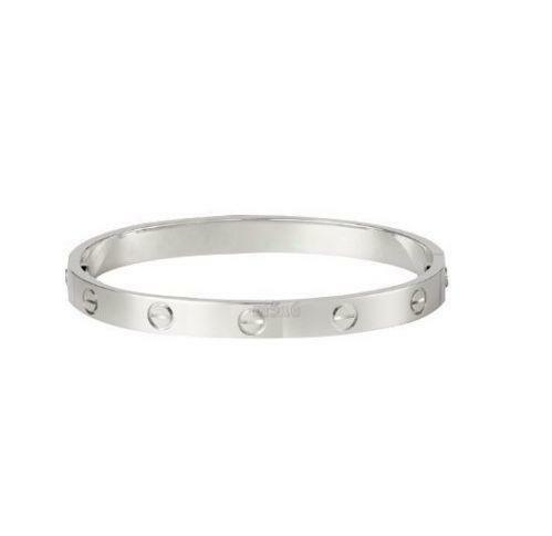 Silver Love Bangle  Jewellery   Watches   eBay