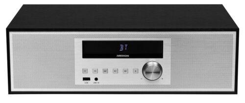MEDION LIFE P64301 MD 43301 Mikro CD MP3 Kompaktanlage Musikanlage USB Bluetooth