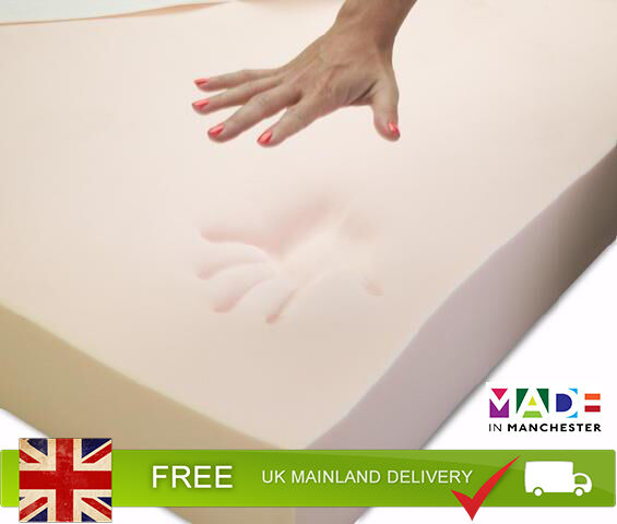 Carousel Care 100 Orthopaedic Memory Foam Mattress Toppers All Sizes Depths