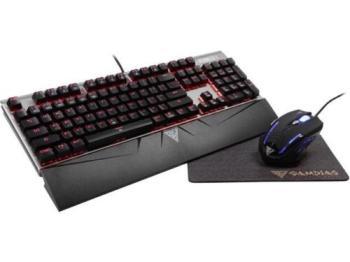 GAMDIAS 3-in-1 Combo - Hermes E1 Mechanical Keyboard, Demeter E2 Mouse, Nyx E1 M