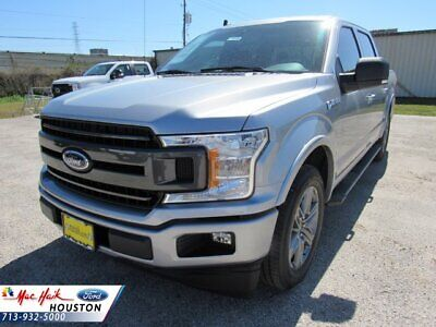 2020 Ford F-150 XLT 2020 Ford F-150 XLT 5142 Miles Iconic Silver Metallic Crew Cab Pickup Twin Turbo