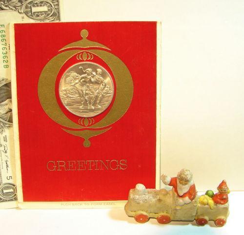 Franklin Mint Christmas Coin EBay