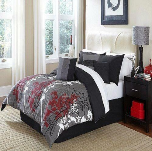 title | Black And White And Red Bedding