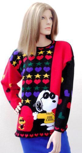 Snoopy Sweater EBay