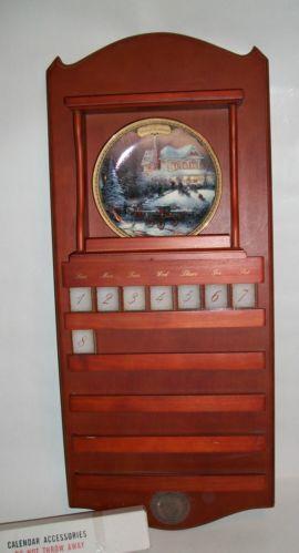Thomas Kinkade Calendar Plates EBay