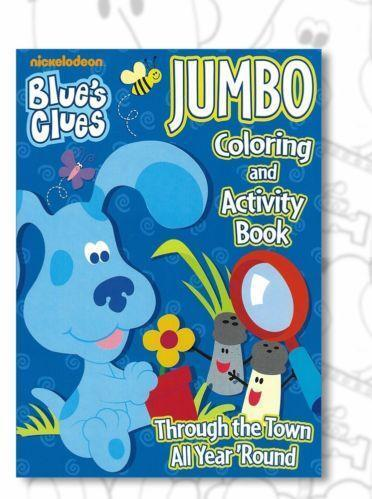 blues clues coloring book ebay