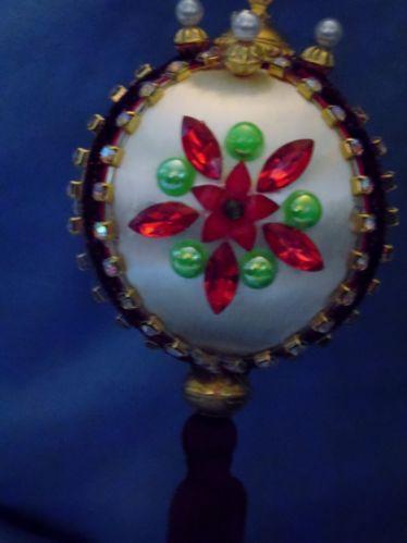Vintage Handmade Christmas Ornaments EBay