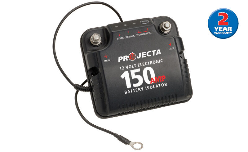 PROJECTA DBC150 12V 150A DUAL BATTERY SYSTEM ISOLATOR DEEP