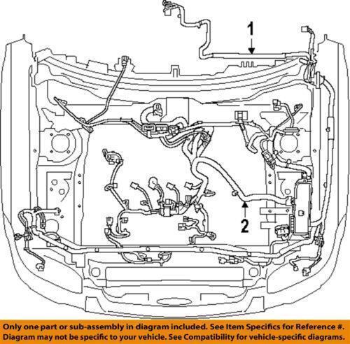Ford Engine Wiring Harness   eBay