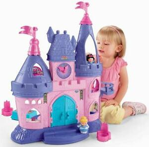 Disney Princess Castle   eBay Little People Disney Princess Castle