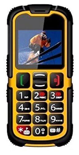 Seniorenhandy Baustellenhandy Outdoorhandy IP67 Grosstasten Handy ohne Vertrag
