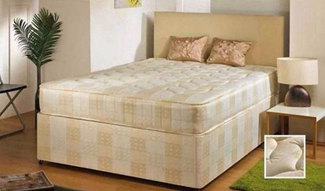 Brand New Kingsize Single Double Bed With Super Orthopaedic Mattress