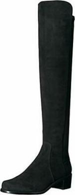 Stuart Weitzman Women's Reserve Boot, Black, Size 10.0 G131