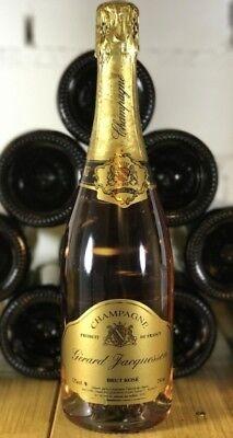 6 Flaschen - Gerard Jacquesson Champagner - Brut Rosé - 0,75 Liter