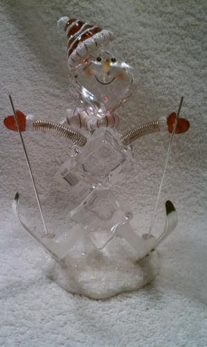 Ice Cube Snowman Collectibles EBay