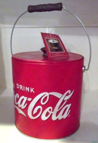 Coca Cola Ice Chest Metal
