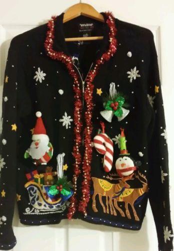Ugly Christmas Sweater Womens Medium EBay