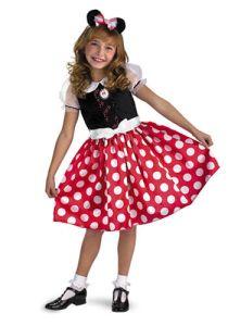 Disneys Minnie Mouse Child Halloween Costume