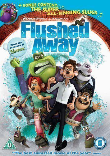 Flushed Away Shark Tale Dvd