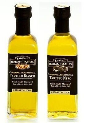 Trüffelöl Trüffel Öl 1x weiße + 1x schwarze Trüffel 110ml Top Aroma !