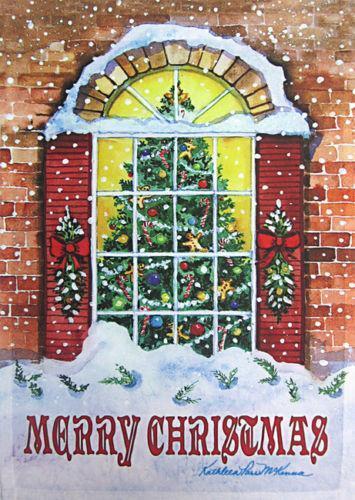 Merry Christmas Flag EBay