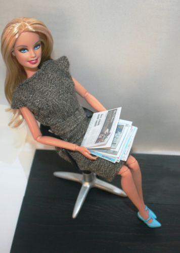 Barbie Office EBay