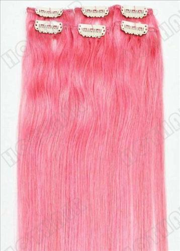 Hot Pink Hair Extensions EBay