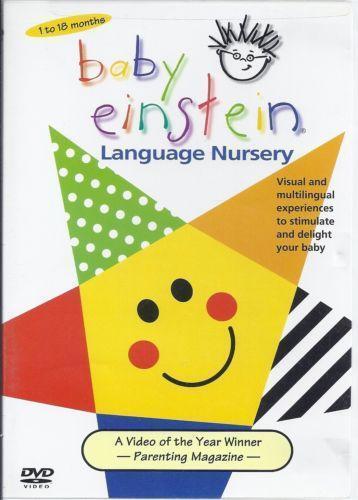 Baby Einstein Language Nursery Dvd Ebay