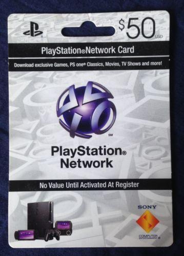 PSN Card EBay