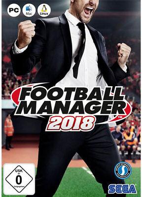 Football Manager 2018 [EU] STEAM Spiel FM 18 CD Key Digital Download Code Key