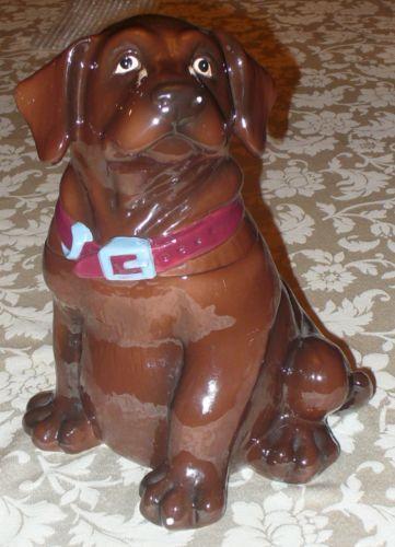 Dog Cookie Jar EBay