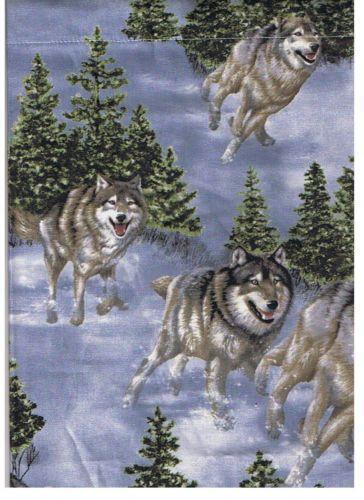 Wolf Curtains EBay