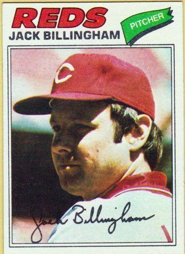 Jack Billingham Sports Mem Cards Amp Fan Shop Ebay