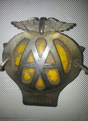 1960 Aa Badge Ebay