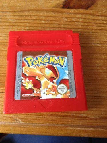 Pokemon Red Games EBay