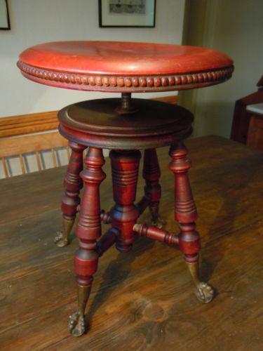 Victorian Piano Stool Ebay
