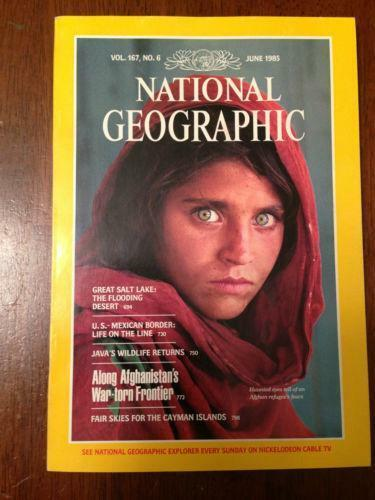 Old National Geographic Magazines