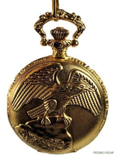 Eagle Pocket Watch EBay