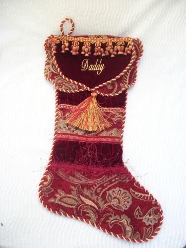 Fancy Christmas Stocking EBay