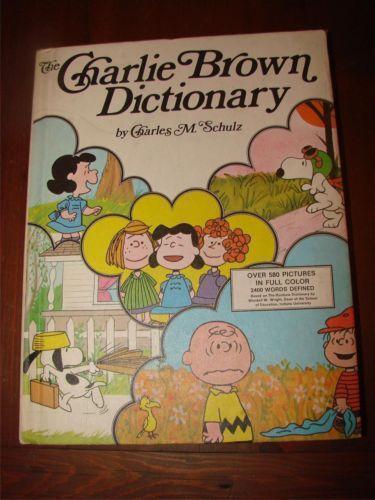 Charlie Brown Dictionary Books EBay