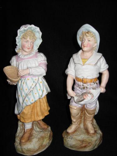 French Bisque Figurines EBay