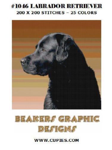 Labrador Cross Stitch EBay