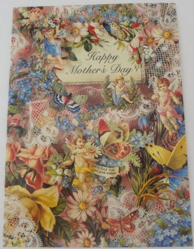 Vintage Mothers Day Card EBay