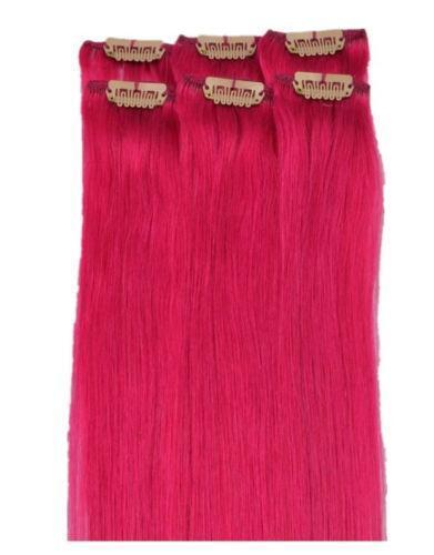 Pink Hair Extensions EBay