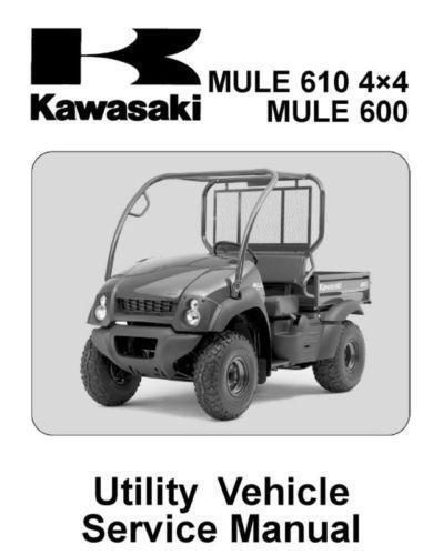 Kawasaki Mule Manual | eBay