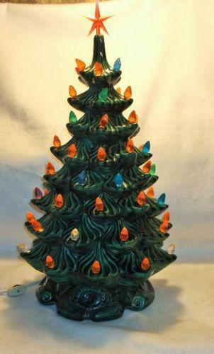 Replacement Tree Christmas Ceramic Bulbs