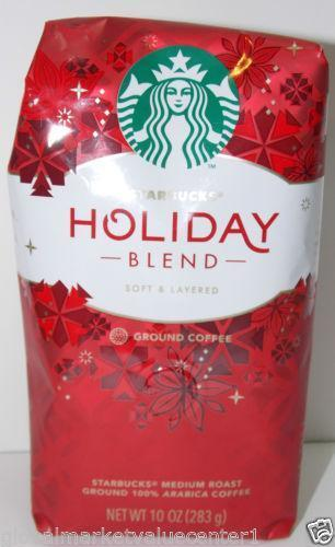 Starbucks Holiday Blend Coffee EBay