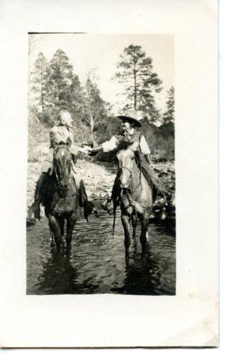 Vintage Cowgirl Postcards EBay