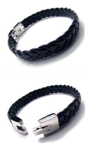Boys Leather Bracelet EBay