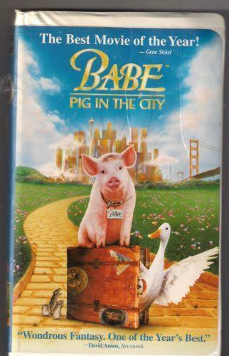 Babe Pig In The City VHS EBay